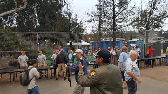 Warrior Volunteer Force Screening Gate