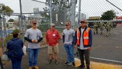 Warrior Volunteer Force Gate Safety