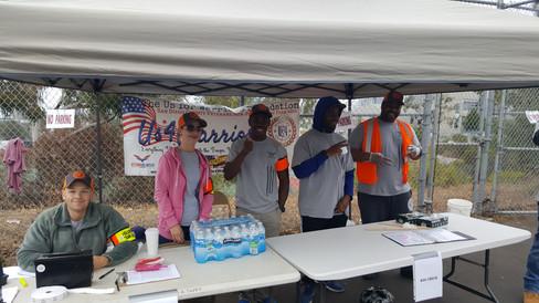 Warrior Volunteer Force Volunteer Check-In