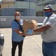 Volunteers Helping Others