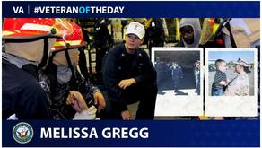 Food4Warriors Program Assistant Melissa Gregg is VA's Veteran of the Day