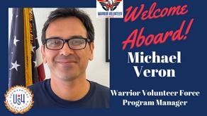 Welcome Warriors Volunteer Force Coordinator, Michael Veron