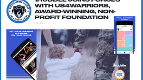 Workforce Tech Company 1Huddle Joins Forces with Us4Warriors