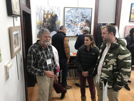 First Friday Opening Receptions