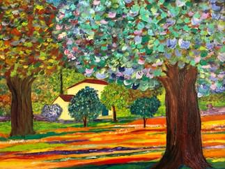 Fall in Provence by Antonio Menendez