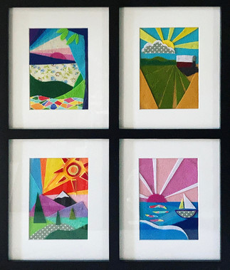 Sunsets From Scraps by Leslie Ober.jpg