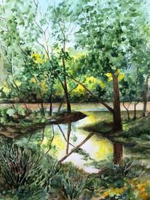 Along White River by Kay Richards