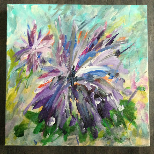 Purple Fun by John Dierdorf
