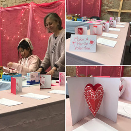 Pop Up Valentines Activity