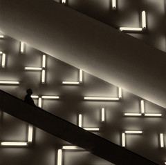 Martha Desending a Staircase by John Bartlow