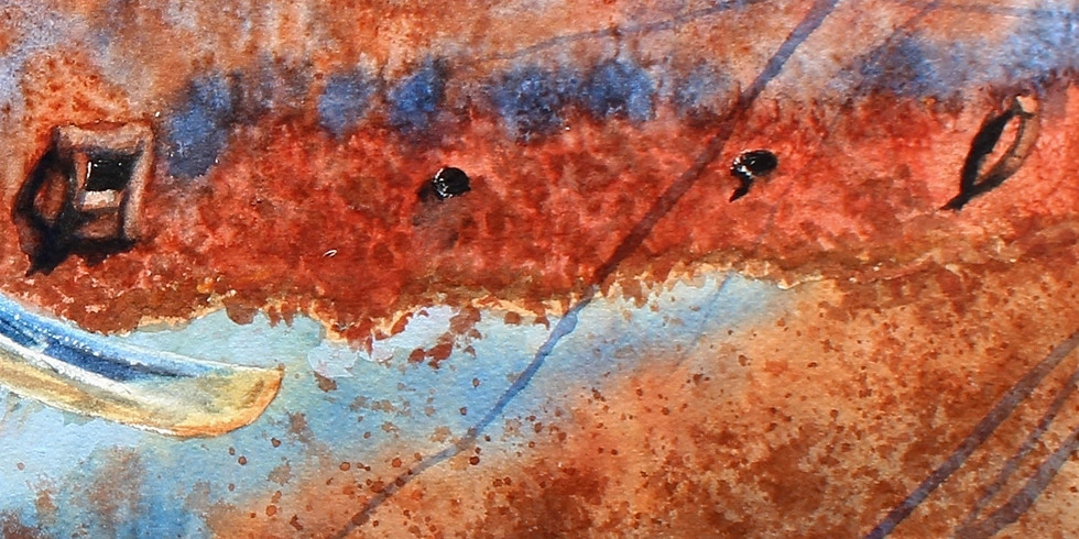 Painting Textures In Watercolors with Stephen Edwards