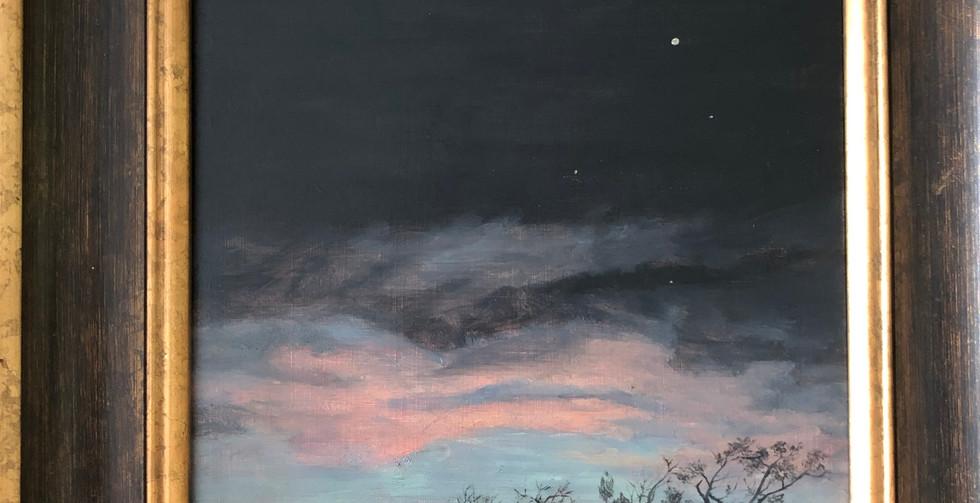Patty MacInnis, Sunset on a Clear Night
