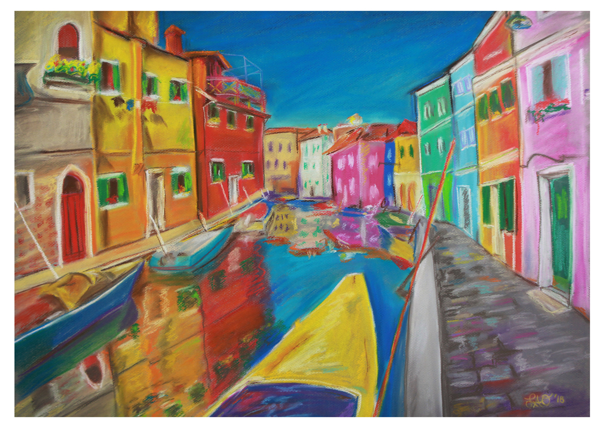 Leslie Ober, Burano, Italy