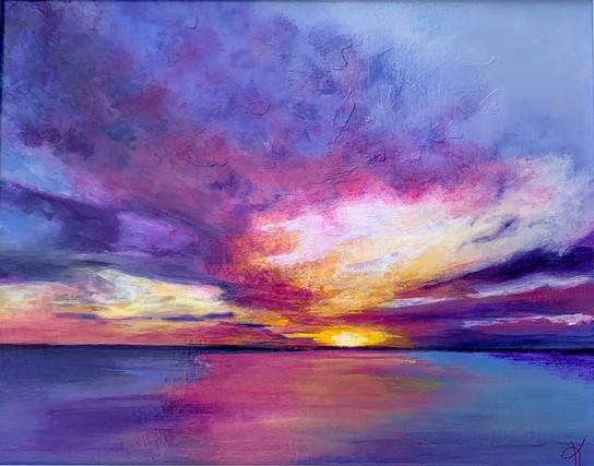 Amethyst Storm by Kelly Schaub
