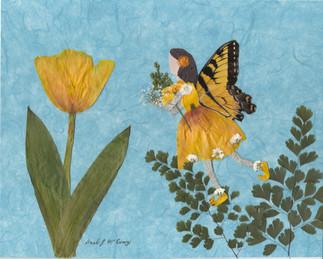 Tulip Fairy by Barb McEvoy