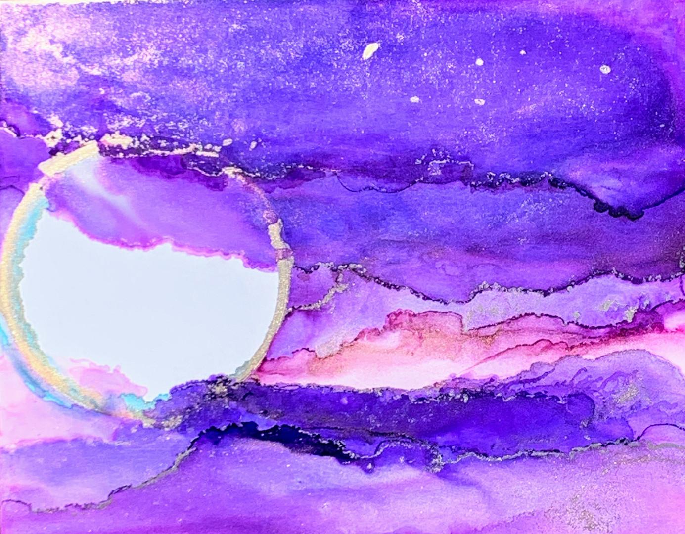 Amethyst Sunset