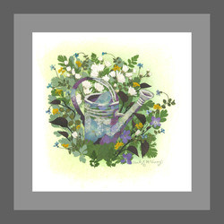 Mother's Old Watering Can