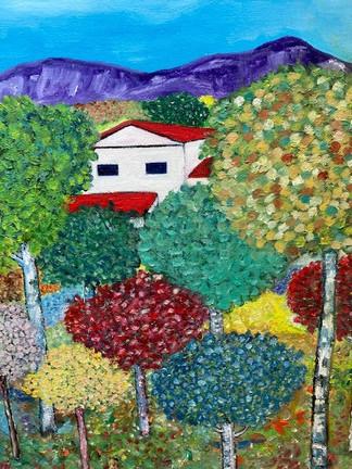 Autumn in the Pyrenes by Antonio Menendez