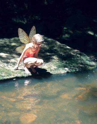 Water Fairy by Melinda Hamilton