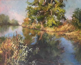 Stony Creek Reflections by Lesley Haflich