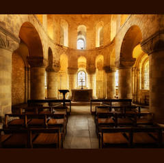 Chapel at the Tower by Christine Merchent