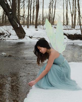 Snow Fairy by Melinda Hamilton