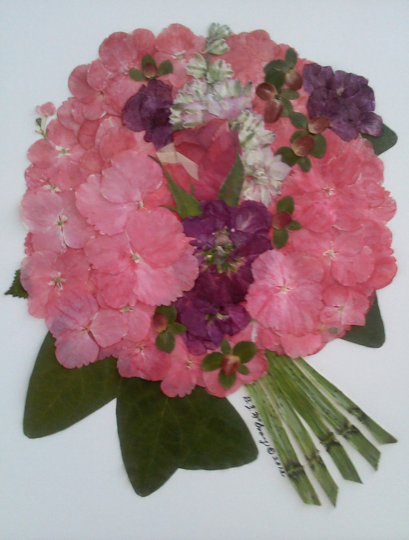 Hydrangea Wedding Bouquet