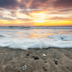 Atlantic Sunrise In The Wake Of A Storm by Thomas Jones