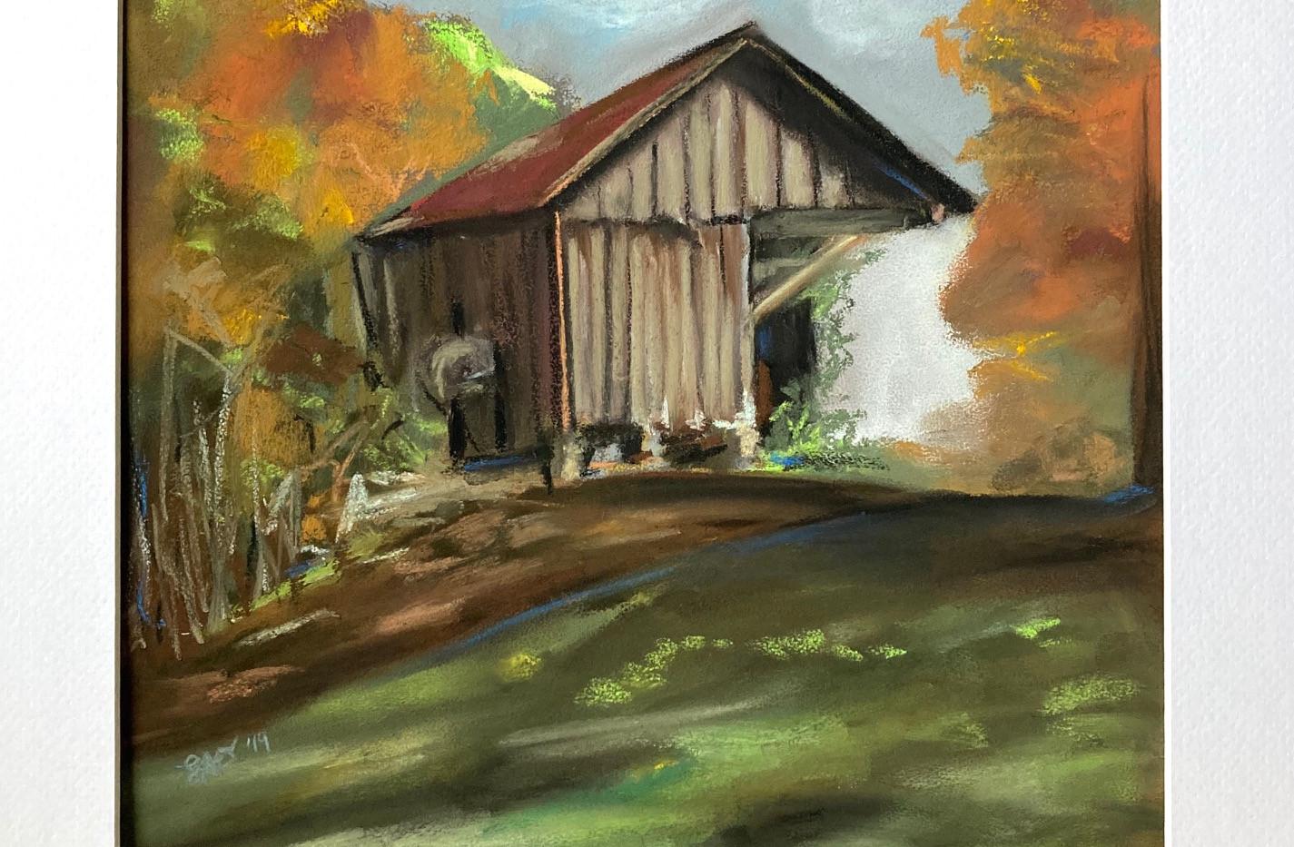 Leslie Ober, Whitewater River Barn
