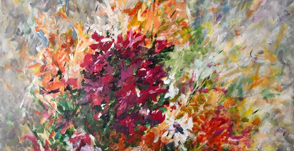 John Dierdorf,  Spring Flowers One