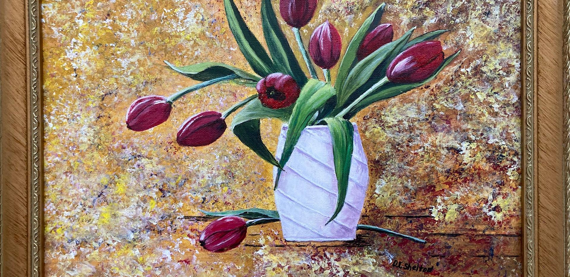Jean Shelton, Spring Blooms
