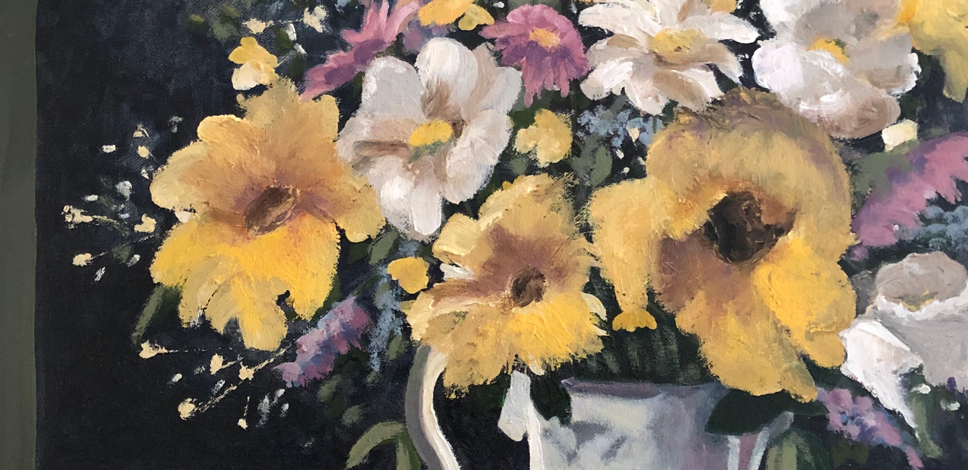 Patty MacInnis, Floral Revisted
