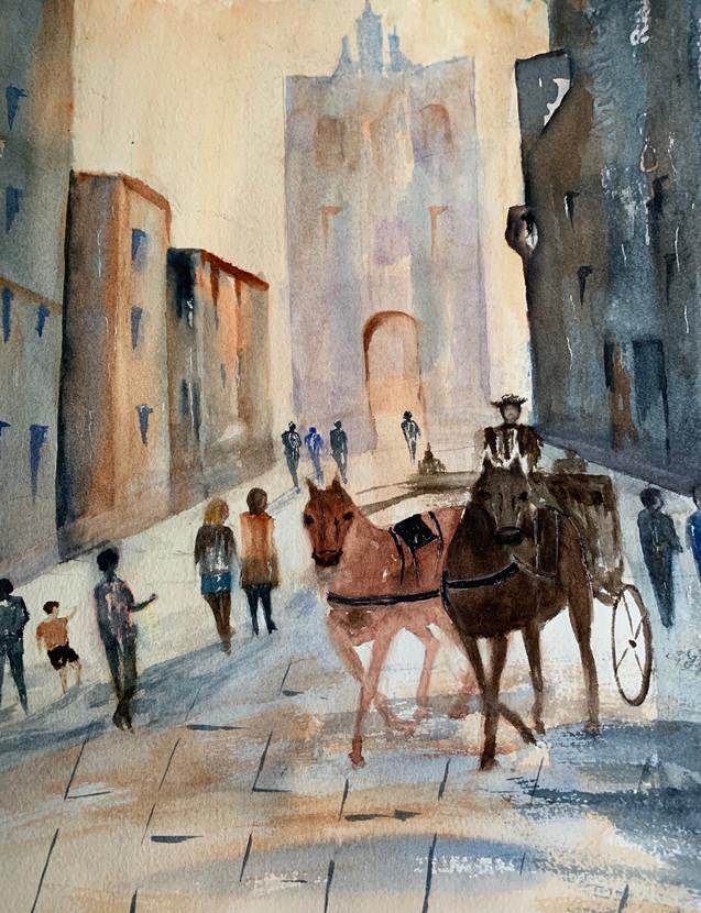 City Tour by Mansoureh Sameni