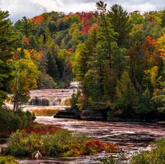 Tahquamenon Lower Falls by Larry Lato