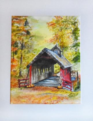 Covered Bridge by Teri Johnson