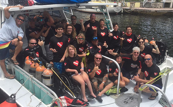 Adaptive Diver Training Trips