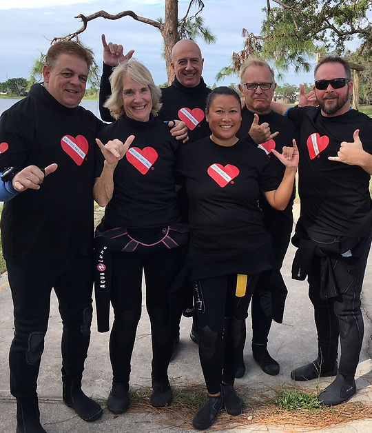 Scuba Diving Class at Lake Denton
