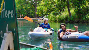 Rollin' on the River - Conservation Crew patrols San Marcos River to keep it clean