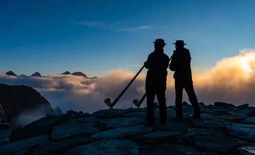 Alphornklänge Aletschgletscher