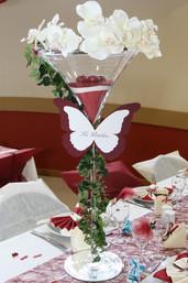 Fuchsia / Rouge et Blanc