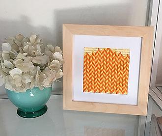 Needlepoint Yellow