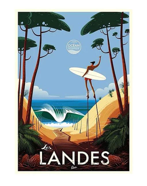 Marchillsocks-chaussettes-Landes-affiche