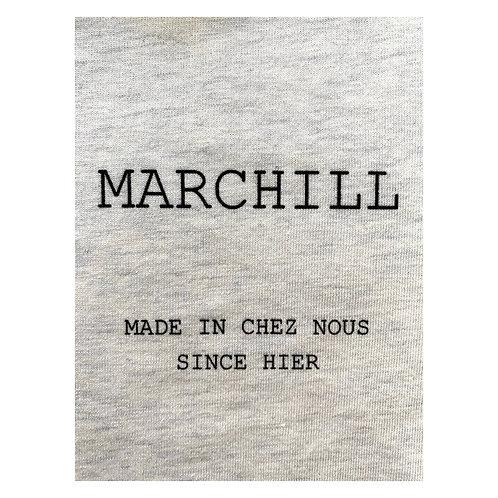 Tee shirt Gris Chiné