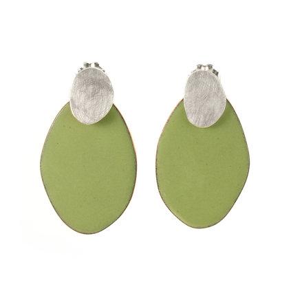 Large Pebble Earrings