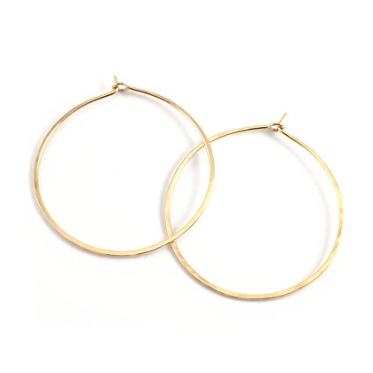 WS Gold Hoops