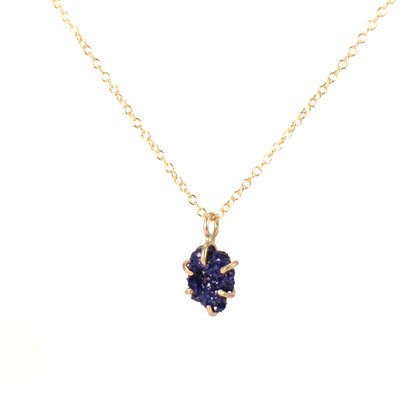 WS Raw Azurite Necklace