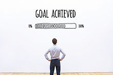 goal achieved progress loading bar, conc