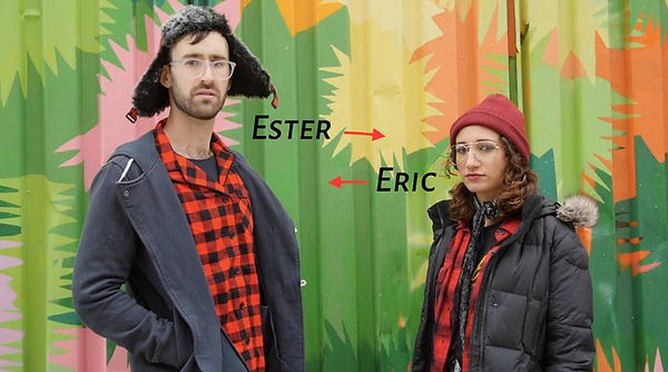 Ester Steinberg and Eric Wiliams in Brooklyn Contest
