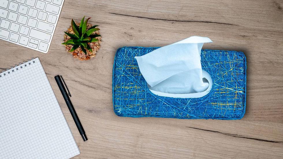 Abaca Rectangle Tissue Holder