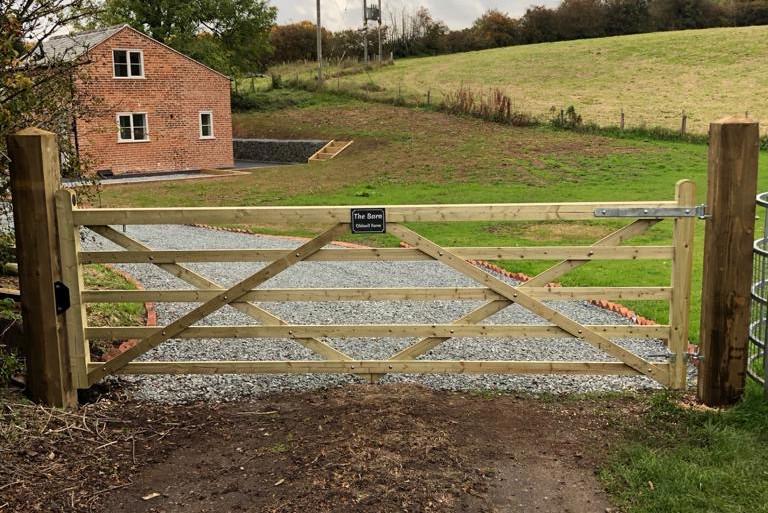 Side Gate Entrance
